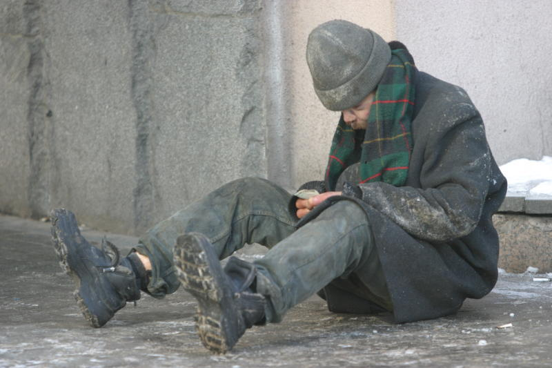 Количество бездомных в городе составляет около 10 тысяч человек / «Вечерняя Москва»