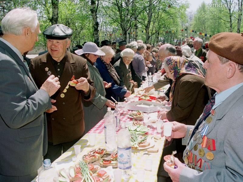 многих них праздничный стол на день победы фото овощи