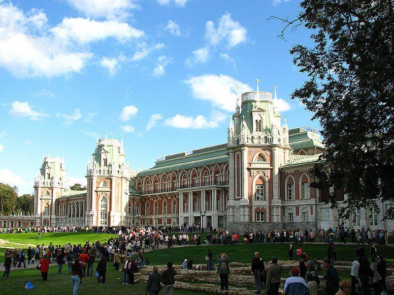 Музей-заповедник'Царицыно вошел в ТОП-7 популярных музеев Москвы
