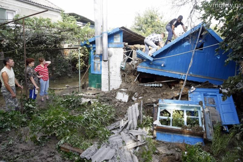 крымск наводнение фото очевидцев время