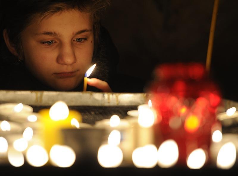 """18 апреля у православных христиан – самый скорбный день в году – Страстная пятница или Великий Пяток. / Агентство """"Фото ИТАР-ТАСС"""""""