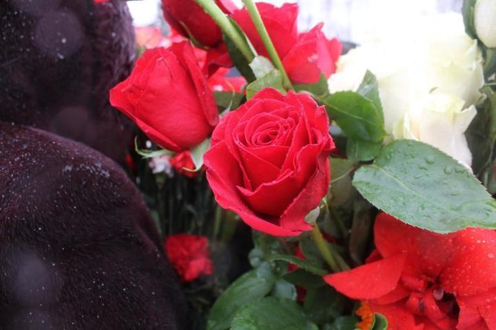 На могилу Валерию Золотухину поклонники несли цветы / Алина Матыченко