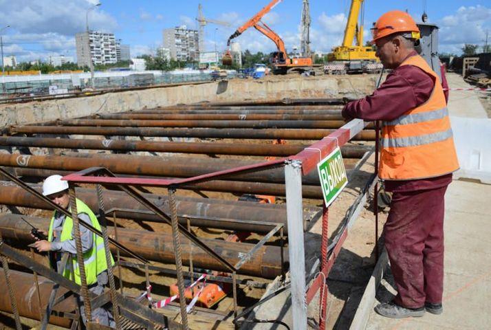 Новую станцию метро начали строить в Москве