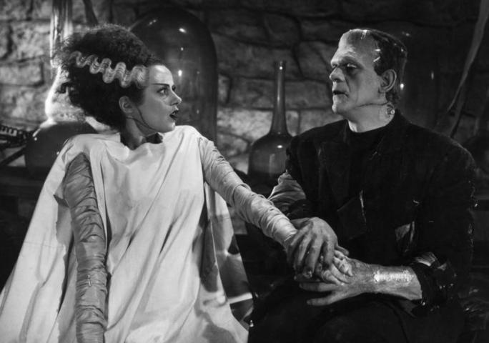 """Борис Карлофф в фильме """"Невеста Франкенштейна"""" (The Bride of Frankenstein, 1935) / kinopoisk.ru"""