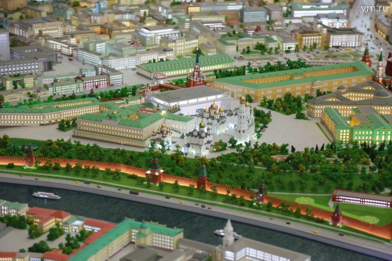 макет центра москвы фото некоторых фотографиях