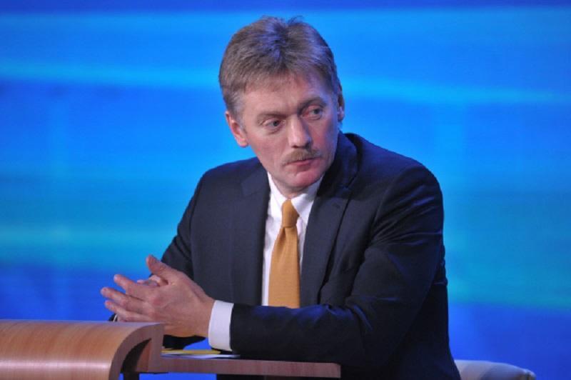Пресс-секретарь президента РФ Дмитрий Песков: Кремлю ничего не известно о корректировке антироссийских санкций Вашингтоном. / РИА Новости