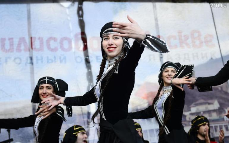 Фестиваль «Тбилисоба» — ансамбль «Арго» / Наталья Феоктистова