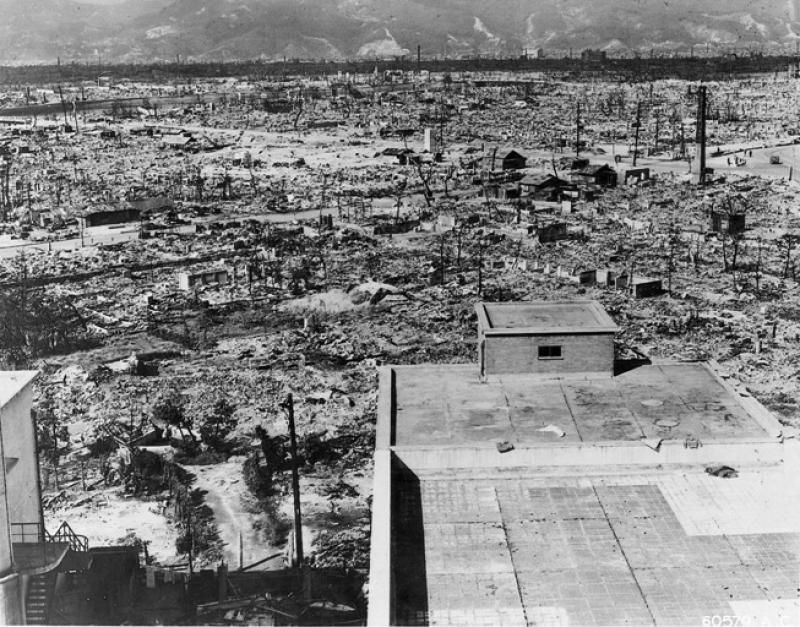 Хиросима после атомной бомбардировки / Wikipedia