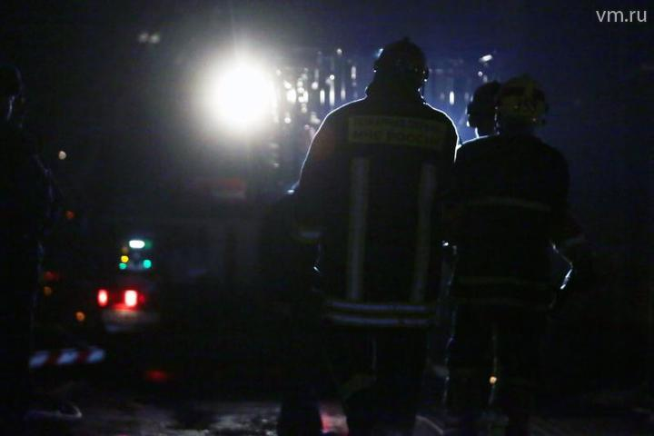 Локализован пожар площадью 1100 «квадратов» на складе под Краснодаром