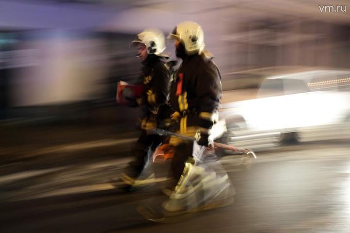 Хозяйка горящей квартиры на Волгоградском проспекте успела вовремя покинуть жилище