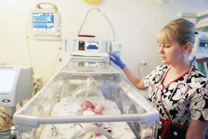 В Москве и Московской области рост числа родившихся составил более четырех процентов / Анна Иванцова