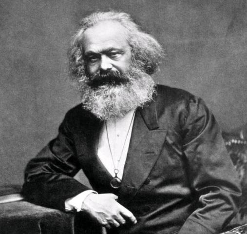 Карл Маркс в 1875 году / Википедия