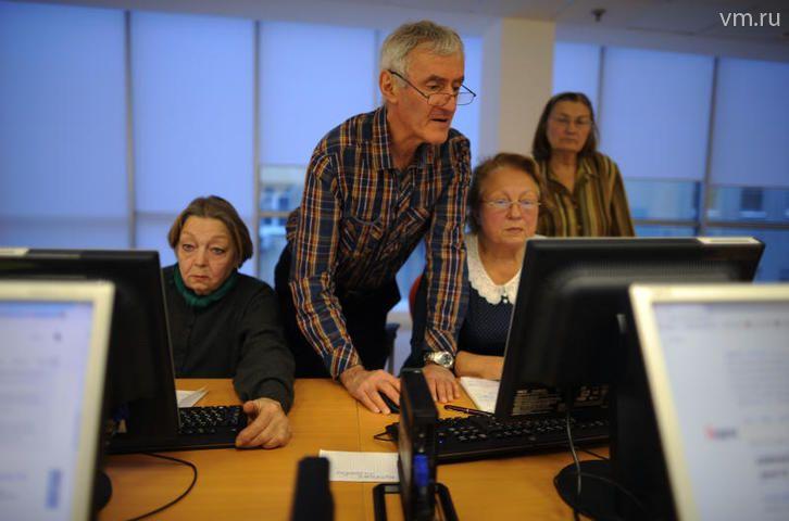 На всероссийский чемпионат по компьютерному многоборью поедут московские пенсионеры