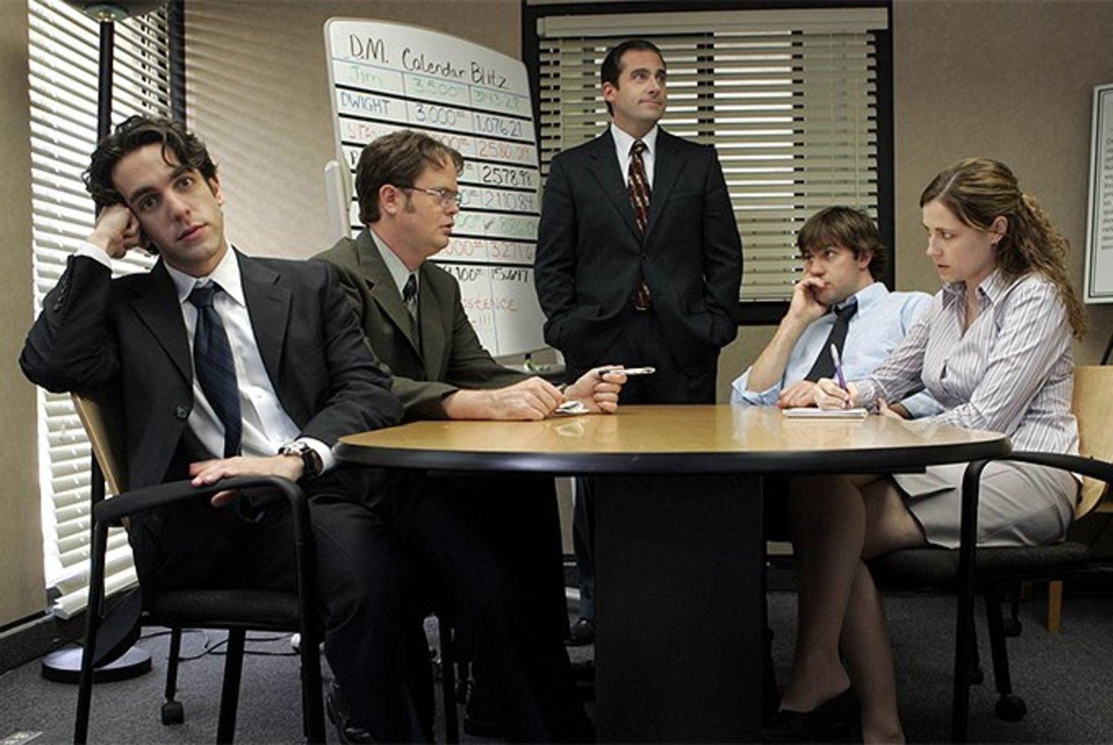 Нет ничего плохого в том, что человек работает на одном и том же месте 10 лет, если его все устраивает / Кадр из сериала «Офис»