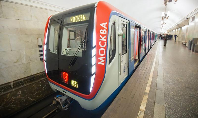 Второй поезд нового поколения «Москва» запустили на Калужско-Рижской линии метро