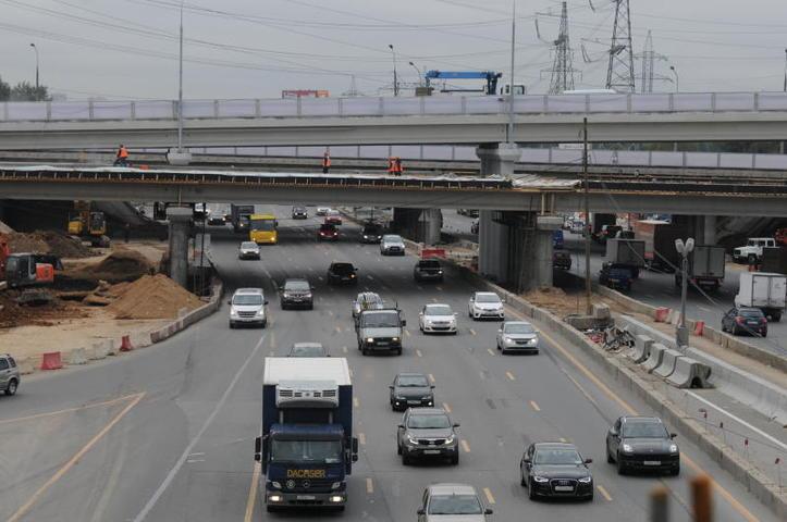 Развязку МКАД с Бесединским шоссе реконструируют до 2022 года