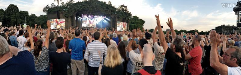 """Лондон, Великобритания. Концерт группы Tom Petty & The Heartbreakers в Гайд-парке / Игорь Ивандиков, """"Вечерняя Москва"""""""