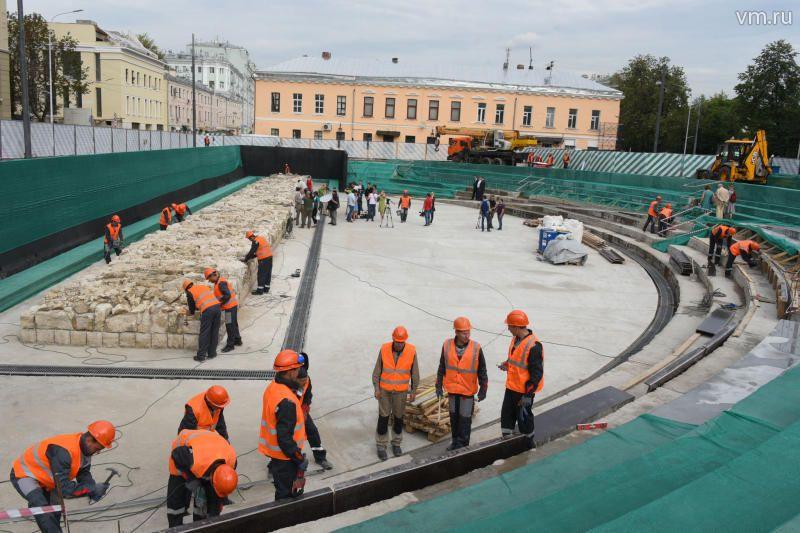 Сергей Собянинсообщил, что основные работы по благоустройству Бульварного кольца планируется завершить в ближайшие недели.