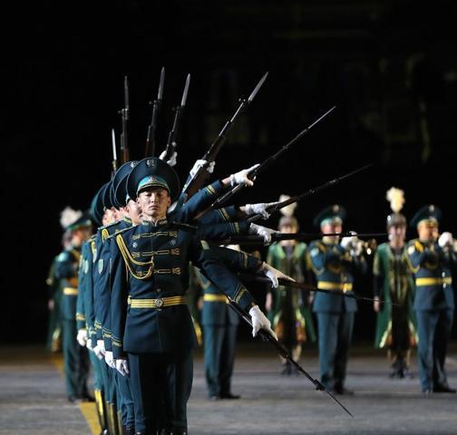 Праздник проходил в столице с 26 августа / Пресс-служба Х Международного военно-музыкального фестиваля «Спасская Башня»