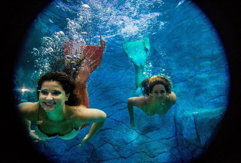 Уфологи и исследователи аномальных явлений уверены: подводный народ вряд ли изберет место столь шумное и настолько наводненное людьми для своего проживания, как многомиллионный мегаполис / Zuma/TASS