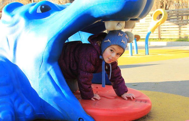 Современные детские площадки станут точками притяжения для жителей районов