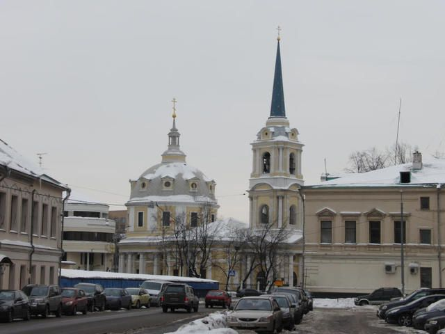 Храм Вознесения на Гороховом поле / Автор: Michael Vokabre - originally posted to Flickr as Church of Ascension of Jesus on Gorokhovsky field, CC BY-SA 2.0, https://commons.wikimedia.org/w/index.php?curid=9872944