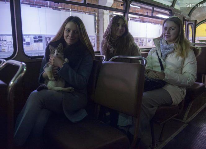 """Автобус, который могут увидеть посетители музея, - настоящий раритет, именно этот автобус использовался как туристический во время Всемирного фестиваля молодежи и студентов, который прошел в Москве в 1957 году / Александр Кожохин, """"Вечерняя Москва"""""""