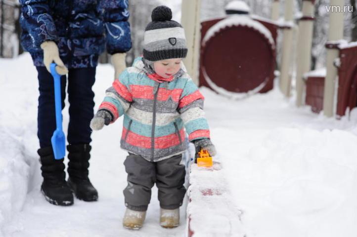 """Однако теплая погода продержится недолго, уже к концу недели вернется минус. На фото: Дима Лукашенок / Пелагия Замятина, """"Вечерняя Москва"""""""