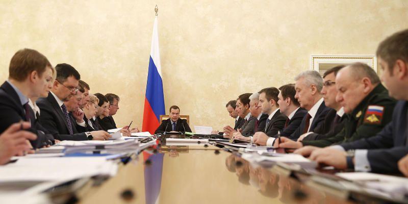 Дмитрий Медведев призвал не допускать неоправданные закупки софта иностранных производителей, если имеются российские аналоги / Официальный портал мэра и правительства Москвы