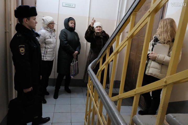 """Полиция подтверждает информацию о том, что жильцы подавали жалобу на хостел / Максим Аносов, """"Вечерняя Москва"""""""