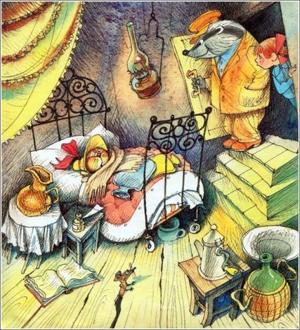 Иллюстрация к книге Э. Успенского «Меховой интернат» / Виктор Чижиков