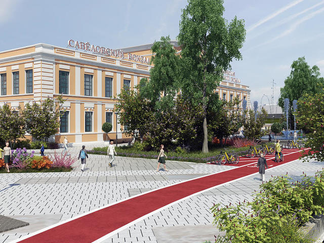 Две станции метро, вокзал, остановки электробусов и гостиница станут частью крупного транспортного узла