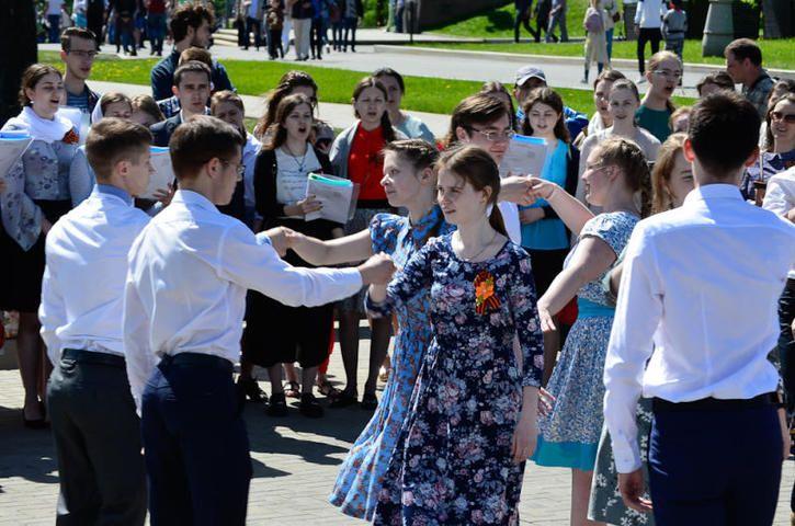 В празднике приняли участие студенты всех факультетов, сотрудники и выпускникиуниверситета / пресс-служба Православного Свято-Тихоновского гуманитарного университета