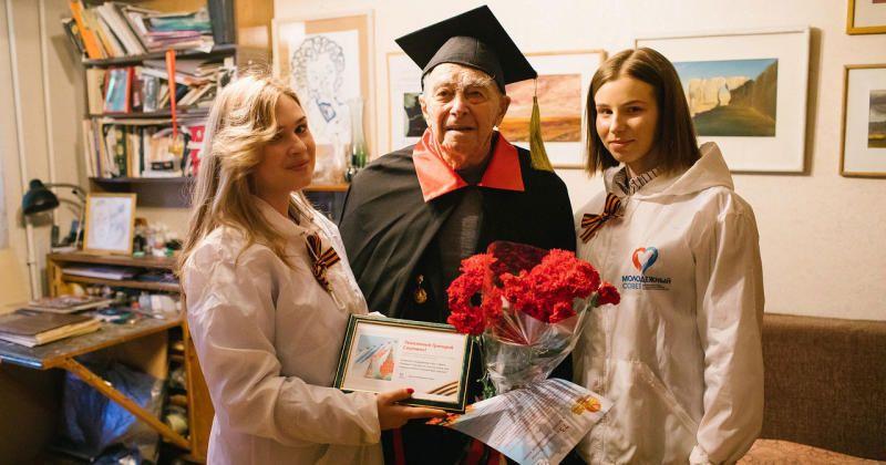 На призыв мэра города поздравить фронтовиков откликнулись более 2900 человек / sobyanin.ru