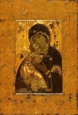 Владимирская икона Божией Матери / Общественное достояние