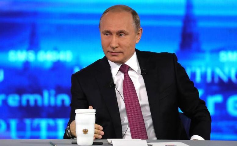 Президент России Владимир Путинответит на интересующие вопросы жителей страны / Официальный сайт Кремля