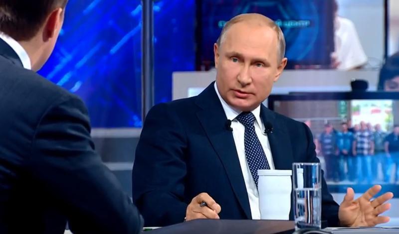 Президент России Владимир Путинтакже добавил, что на российской базе должно расти новое поколение спортсменов / Скриншот с видеотрансляции