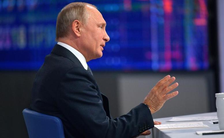 По словам российского лидера,главный совет его отца, который он бы передал своим внукам– это «не врать» / Официальный сайт Кремля
