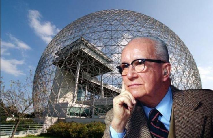 Ричард Бакминстер Фуллер, американский архитектор, дизайнер, инженер и изобретатель / https://www.instagram.com/sdoclub/
