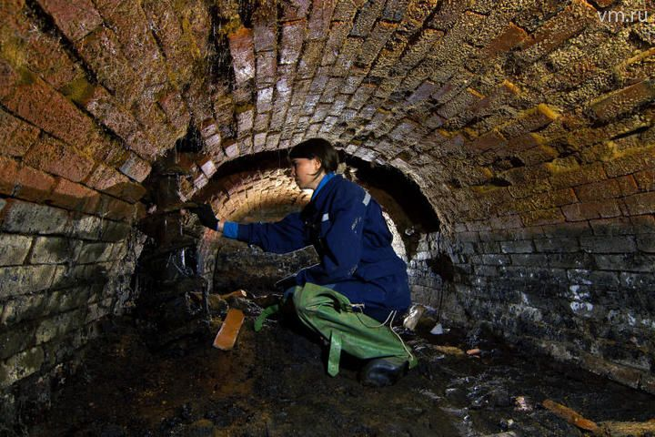 Часть Старо-Люберецкого канала исследователи столичного центра подземных исследований обнаружили при изучении заброшенных коммуникаций под Рязанским районом / Геннадий Виноградов