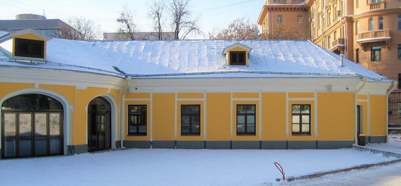Отреставрированный служебный корпус городской усадьбы Сологуба / официальный сайт мэра Москвы