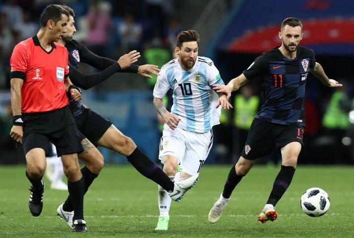 Спортсмены Хорватии разгромили Аргентину в матче ЧМ-2018