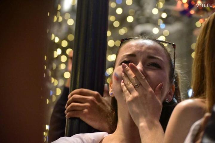 """Болельщики хоть и расстроены, но рады, что футбол получился невероятным! / Пелагия Замятина """"Вечерняя Москва"""""""