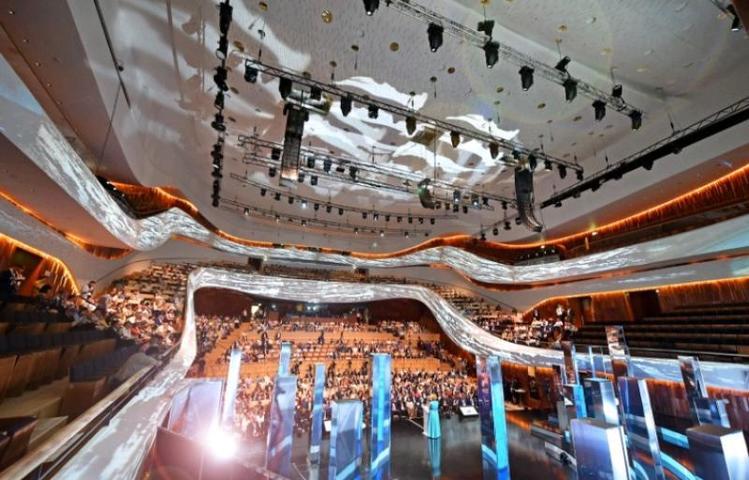 Официальное открытие концертного зала «Зарядье» состоится в День города, 8 и 9 сентября / Комплекс градостроительной политики и строительства Москвы