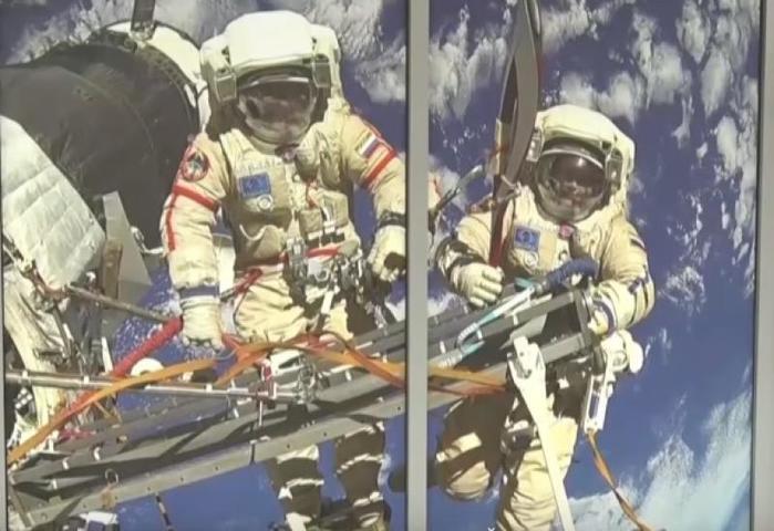 Вкосмонавты раньше шлаэлита человечества – люди с уникальными не только чисто физическими, но и морально-нравственными качествами / Cкриншот с YouTube-канала Телеканал 360