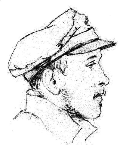 Единственный профильный портрет Михаила Лермонтова