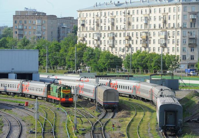 """В прошлом году поездки в Россию принесли компании «Украинские железные дороги» наибольшую прибыль в сравнении с другими направлениями / Александр Кожохин, """"Вечерняя Москва"""""""
