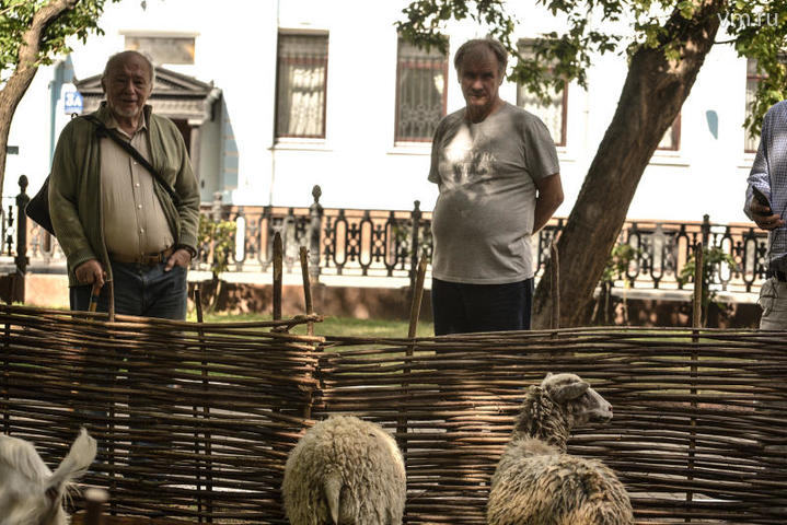 """В рамках фестиваля военные, лавочники, ремесленники живут и работают, как делали их предки три с половиной столетия назад / Пелагия Замятина, """"Вечерняя Москва"""""""