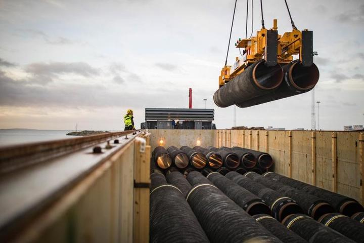 Строительство газопровода «Северный поток — 2» приостановлено из-за новых американских санкций / www.nord-stream2.com