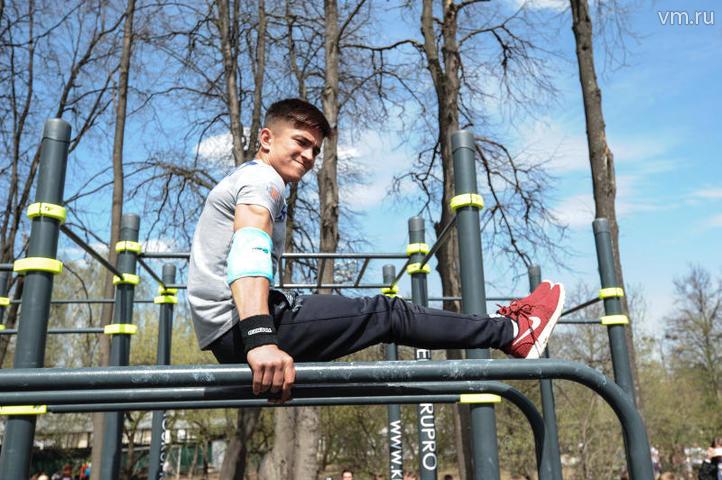 """Что касается физической активности, то тут тоже нет никаких сложностей: в Москве созданы все условия для этого / Пелагия Замятина, """"Вечерняя Москва"""""""